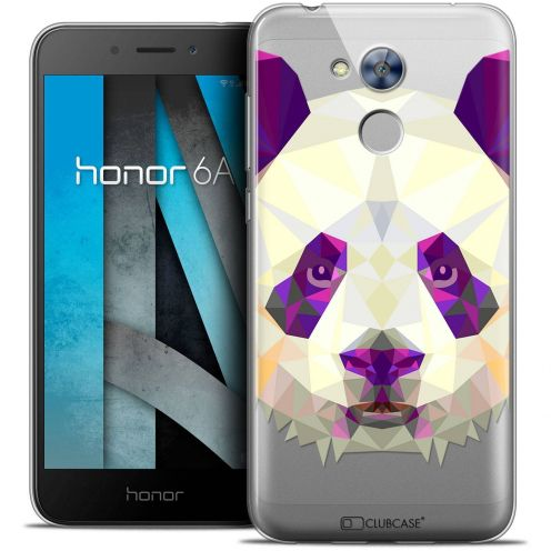 "Coque Crystal Gel Huawei Honor 6A (5"") Extra Fine Polygon Animals - Panda"