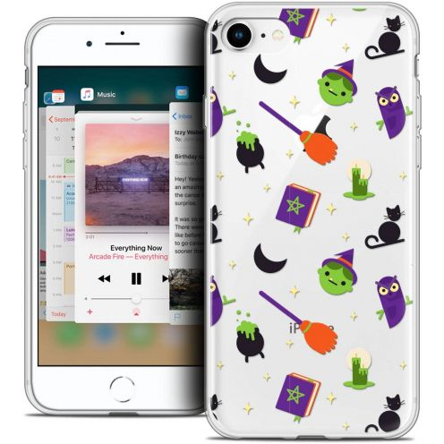 "Coque Crystal Gel Apple iPhone 8 (4.7"") Extra Fine Halloween - Witch Potter"