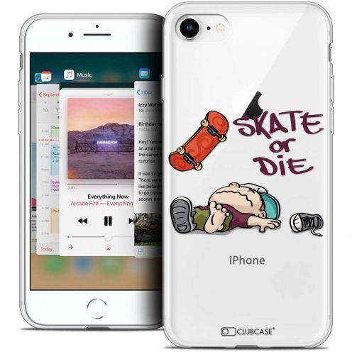 """Coque Crystal Gel Apple iPhone 8 (4.7"""") Extra Fine BD 2K16 - Skate Or Die"""