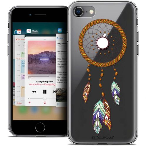 "Coque Crystal Gel Apple iPhone 8 (4.7"") Extra Fine Dreamy - Attrape Rêves Shine"