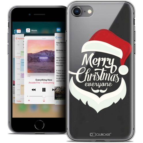 "Carcasa Crystal Gel Extra Fina Apple iPhone 8 (4.7"") Noël 2017 Merry Everyone"