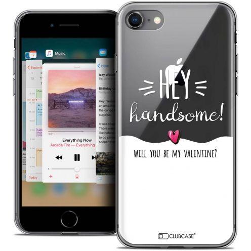 "Coque Crystal Gel Apple iPhone 8 (4.7"") Extra Fine Love - Hey Handsome !"