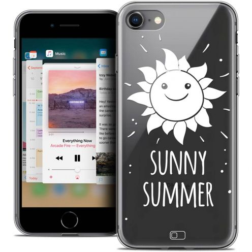 "Carcasa Crystal Gel Extra Fina Apple iPhone 8 (4.7"") Summer Sunny Summer"