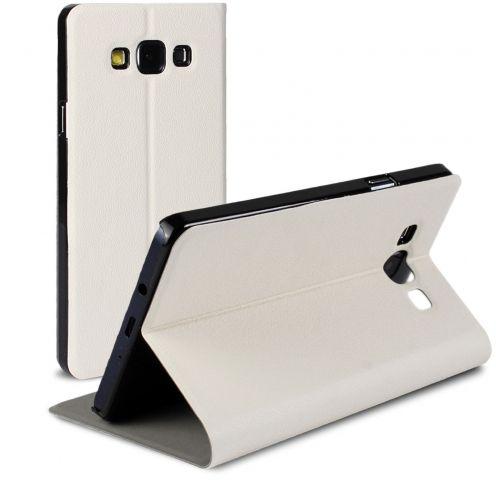 Funda FolioSlim & Stand Smart MagnetBlanca para Samsung Galaxy A7