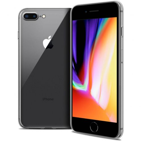 """Coque Apple iPhone 8 Plus (5.5"""") Extra Fine Souple Crystal Clear"""