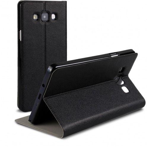 Funda FolioSlim & Stand Smart MagnetNegra para Samsung Galaxy A7
