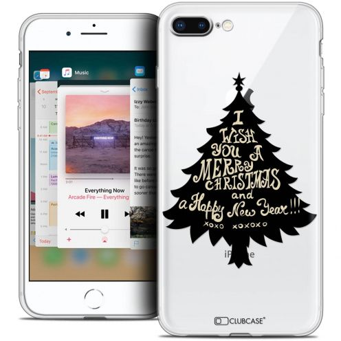 "Coque Crystal Gel Apple iPhone 8 Plus (5.5"") Extra Fine Noël 2017 - XOXO Tree"
