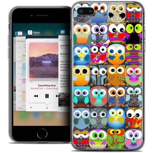 "Coque Crystal Gel Apple iPhone 8 Plus (5.5"") Extra Fine Claude - Hibous"