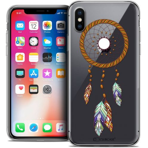 "Coque Crystal Gel Apple iPhone Xs / X (5.8"") Extra Fine Dreamy - Attrape Rêves Shine"