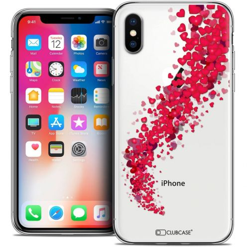 "Coque Crystal Gel Apple iPhone Xs / X (5.8"") Extra Fine Love - Tornado"