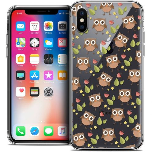 Carcasa Crystal Gel Extra Fina Apple iPhone X (10) Summer Hibou