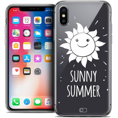 Carcasa Crystal Gel Extra Fina Apple iPhone X (10) Summer Sunny Summer