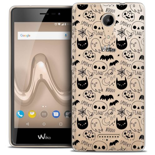 """Coque Crystal Gel Wiko Tommy 2 (5"""") Extra Fine Halloween - Spooky"""