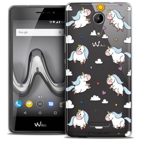 """Coque Crystal Gel Wiko Tommy 2 (5"""") Extra Fine Fantasia - Licorne In the Sky"""