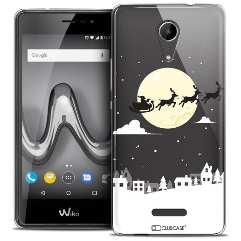 """Coque Crystal Gel Wiko Tommy 2 (5"""") Extra Fine Noël 2017 - Flying Stanta"""