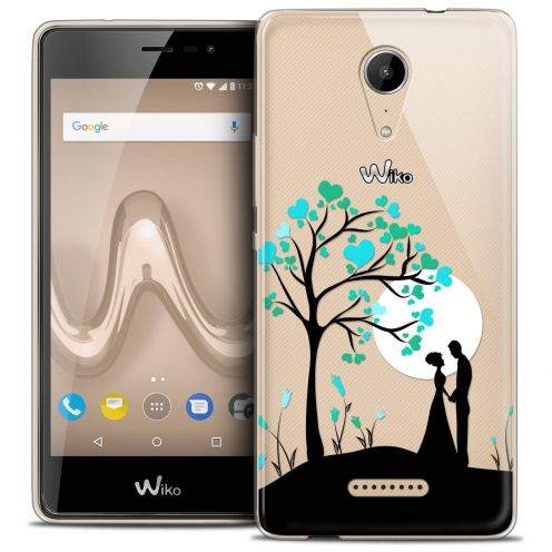 """Coque Crystal Gel Wiko Tommy 2 (5"""") Extra Fine Love - Sous l'arbre"""