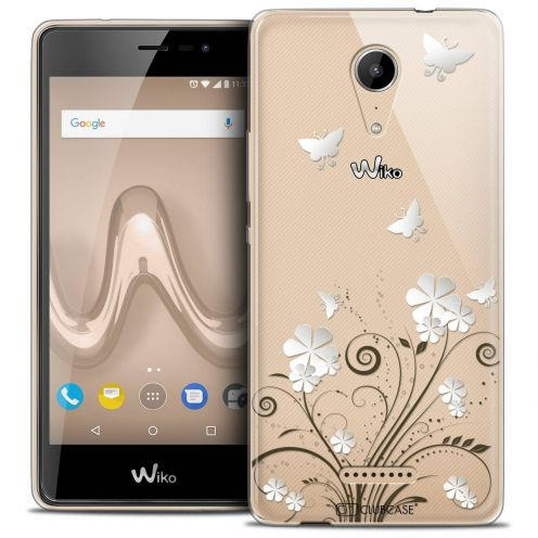 """Coque Crystal Gel Wiko Tommy 2 (5"""") Extra Fine Summer - Papillons"""