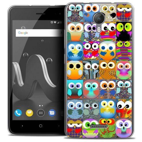 "Coque Crystal Gel Wiko Jerry 2 (5"") Extra Fine Claude - Hibous"