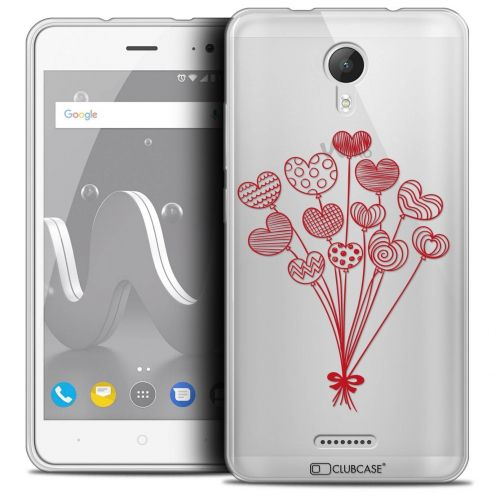 """Coque Crystal Gel Wiko Jerry 2 (5"""") Extra Fine Love - Ballons d'amour"""