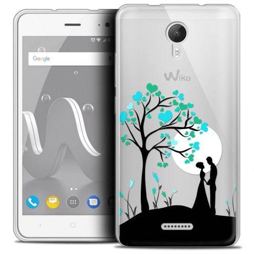 """Coque Crystal Gel Wiko Jerry 2 (5"""") Extra Fine Love - Sous l'arbre"""