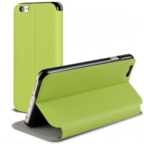 Funda Folio Slim & Stand Smart Magnet Verde para iPhone 6 Plus