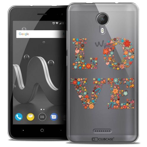 """Coque Crystal Gel Wiko Jerry 2 (5"""") Extra Fine Summer - Love Flowers"""