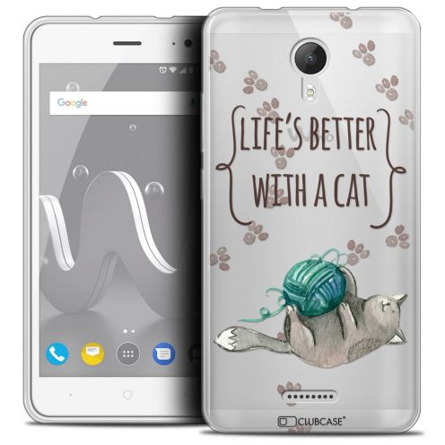 """Coque Crystal Gel Wiko Jerry 2 (5"""") Extra Fine Summer - Life's Better"""