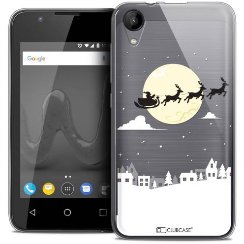 """Coque Wiko Sunny 2 Crystal Gel (4"""") Extra Fine Noël 2017 - Flying Stanta"""