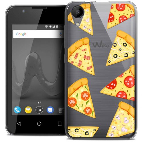 """Coque Wiko Sunny 2 Crystal Gel (4"""") Extra Fine Foodie - Pizza"""