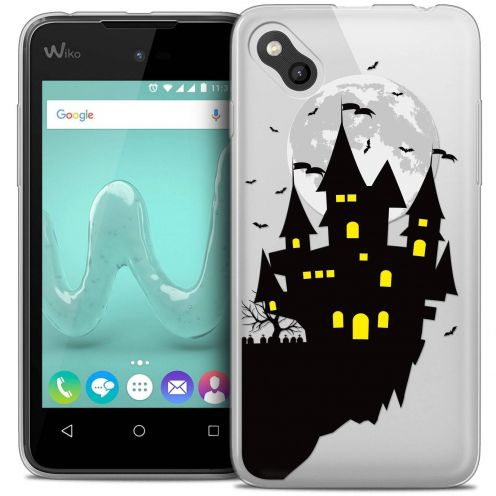 "Coque Wiko Sunny Crystal Gel (4"") Extra Fine Halloween - Castle Dream"