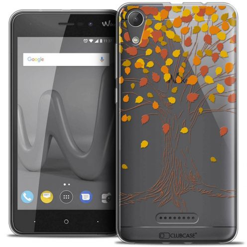 """Coque Crystal Gel Wiko Lenny 4 (5"""") Extra Fine Autumn 16 - Tree"""