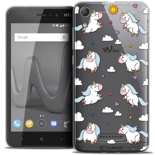 """Coque Crystal Gel Wiko Lenny 4 (5"""") Extra Fine Fantasia - Licorne In the Sky"""