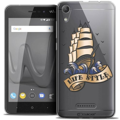 """Coque Crystal Gel Wiko Lenny 4 (5"""") Extra Fine Tatoo Lover - Life Style"""