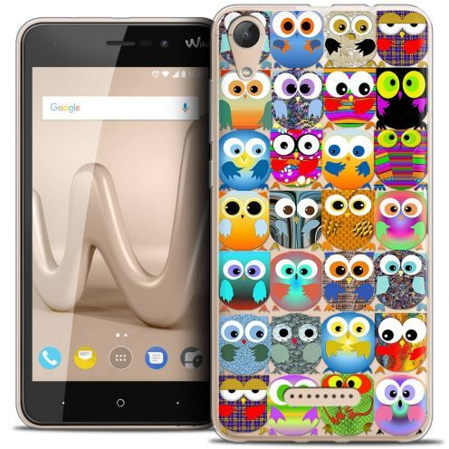 """Coque Crystal Gel Wiko Lenny 4 (5"""") Extra Fine Claude - Hibous"""