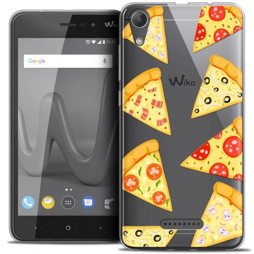 """Coque Crystal Gel Wiko Lenny 4 (5"""") Extra Fine Foodie - Pizza"""