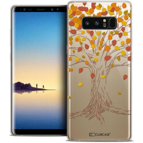 "Carcasa Crystal Gel Extra Fina Samsung Galaxy Note 8 (6.3"") Autumn 16 Tree"