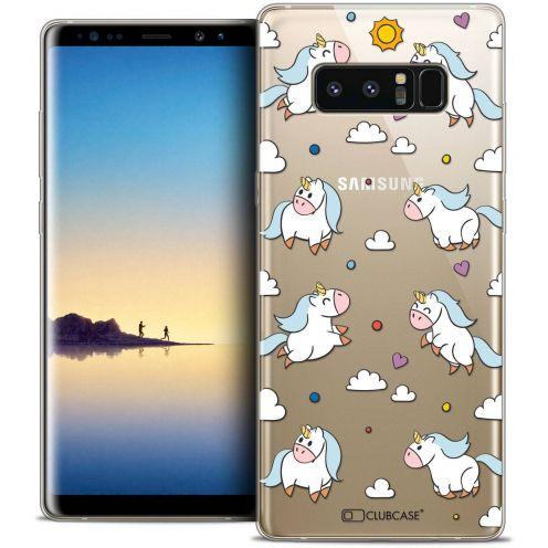 "Carcasa Crystal Gel Extra Fina Samsung Galaxy Note 8 (6.3"") Fantasia Licorne In the Sky"