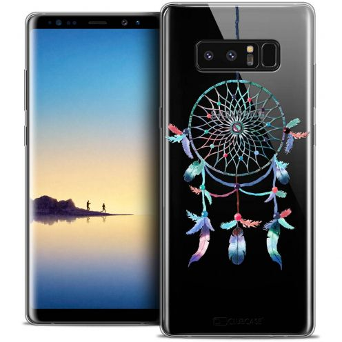 "Coque Crystal Gel Samsung Galaxy Note 8 (6.3"") Extra Fine Dreamy - Attrape Rêves Rainbow"