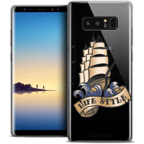 """Coque Crystal Gel Samsung Galaxy Note 8 (6.3"""") Extra Fine Tatoo Lover - Life Style"""
