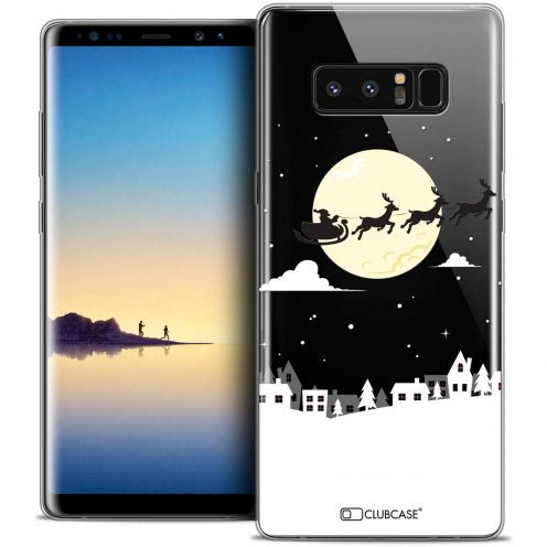 "Coque Crystal Gel Samsung Galaxy Note 8 (6.3"") Extra Fine Noël 2017 - Flying Stanta"
