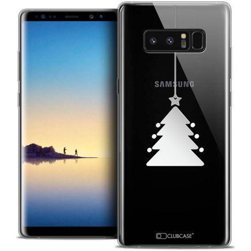 "Carcasa Crystal Gel Extra Fina Samsung Galaxy Note 8 (6.3"") Noël 2017 Petit Arbre"
