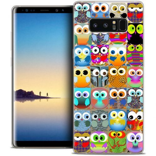 "Carcasa Crystal Gel Extra Fina Samsung Galaxy Note 8 (6.3"") Claude Hibous"