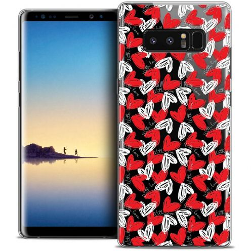 "Carcasa Crystal Gel Extra Fina Samsung Galaxy Note 8 (6.3"") Love With Love"