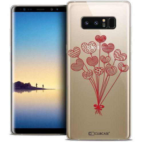 "Carcasa Crystal Gel Extra Fina Samsung Galaxy Note 8 (6.3"") Love Ballons d'amour"