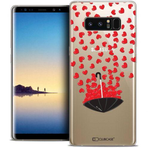 "Carcasa Crystal Gel Extra Fina Samsung Galaxy Note 8 (6.3"") Love Parapluie d'Amour"