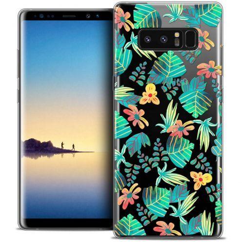 "Carcasa Crystal Gel Extra Fina Samsung Galaxy Note 8 (6.3"") Spring Tropical"