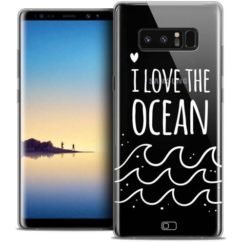"Carcasa Crystal Gel Extra Fina Samsung Galaxy Note 8 (6.3"") Summer I Love Ocean"