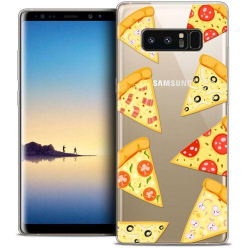 "Carcasa Crystal Gel Extra Fina Samsung Galaxy Note 8 (6.3"") Foodie Pizza"