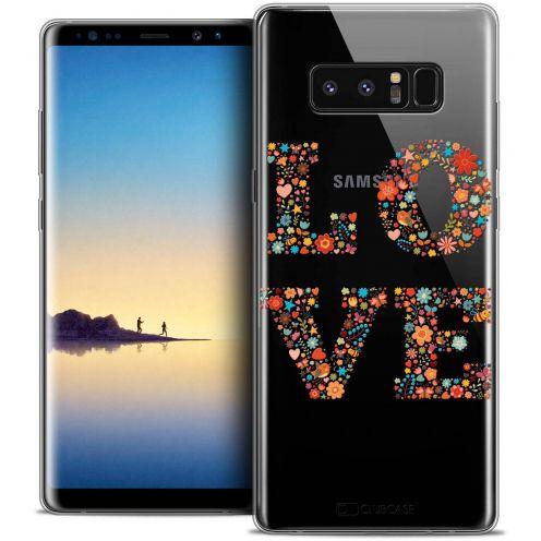 "Carcasa Crystal Gel Extra Fina Samsung Galaxy Note 8 (6.3"") Summer Love Flowers"