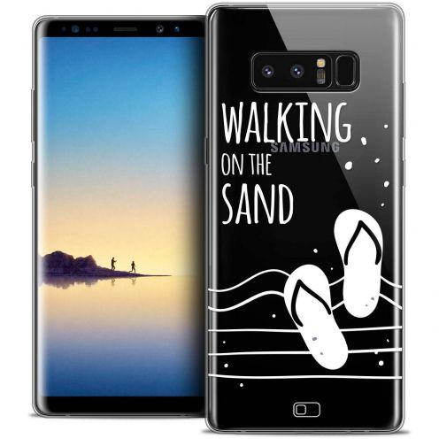 "Carcasa Crystal Gel Extra Fina Samsung Galaxy Note 8 (6.3"") Summer Walking on the Sand"